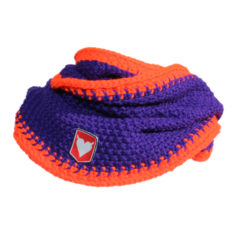 Colacol-Purple-Fluo-Orange sjaal