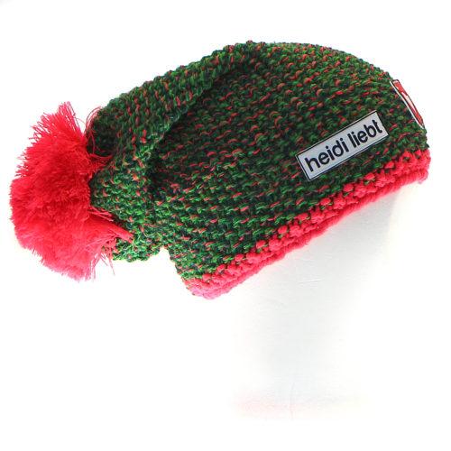 Melange-Green-HotFlamingo