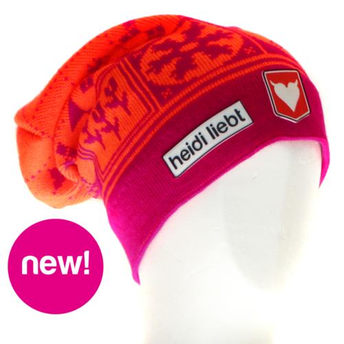 Dutch-Winter-Fluo Magenta Pink - Fluo Orange